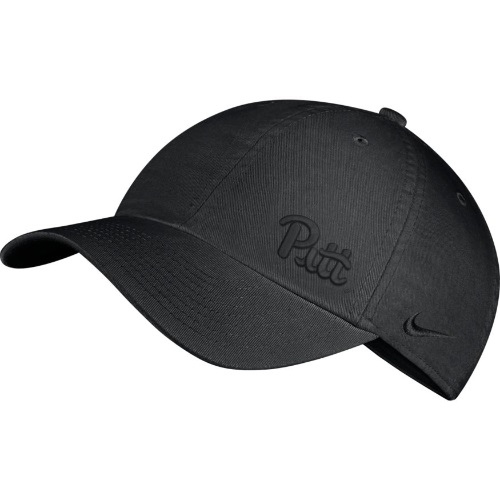 Cover Image For Nike Adult's Pitt Script H86 Hat - Black