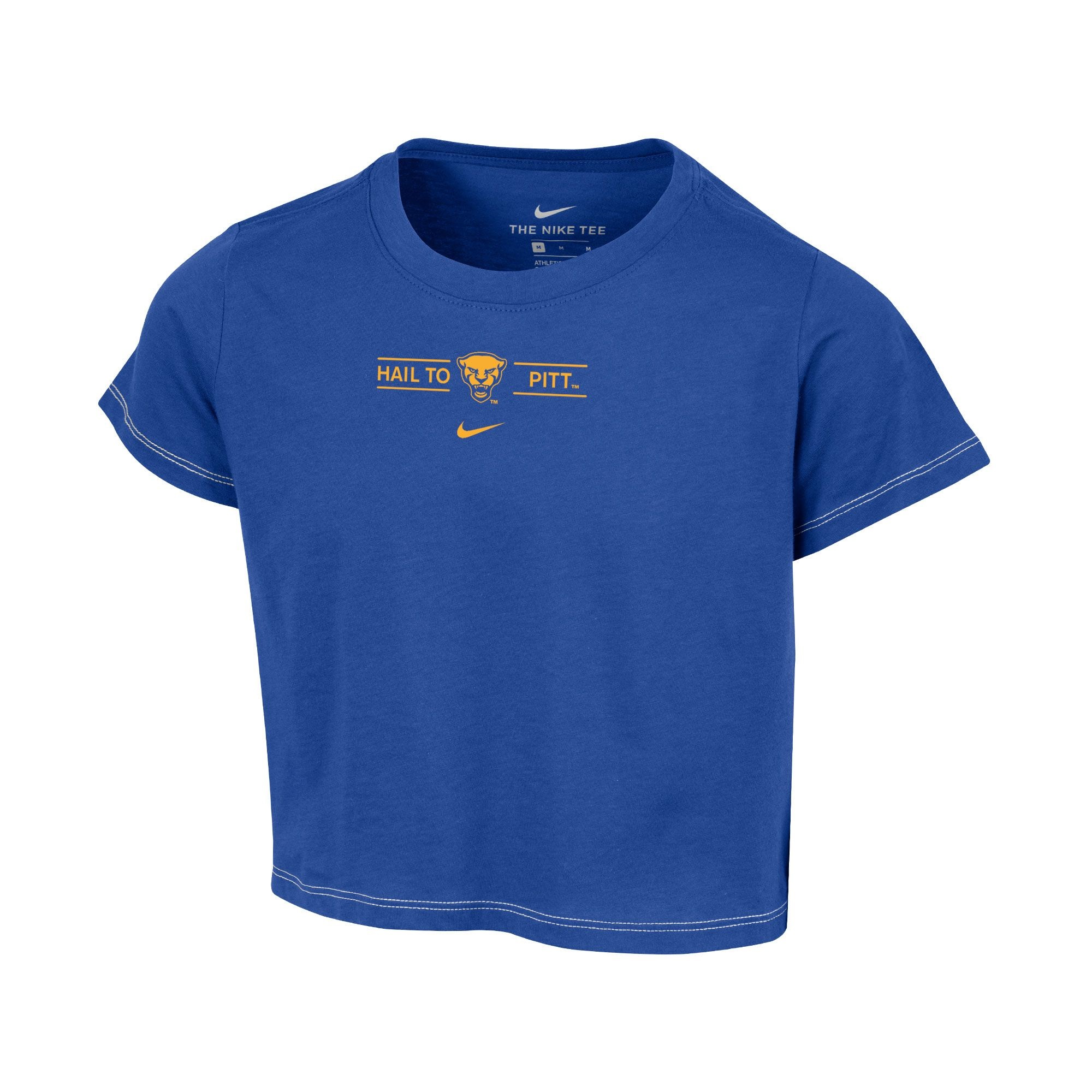 Image For Nike Youth Girls H2P Crop-Royal