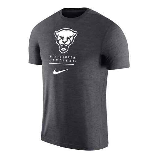 Cover Image For Nike T-Shirt Men's Panther Head Coach - Gray