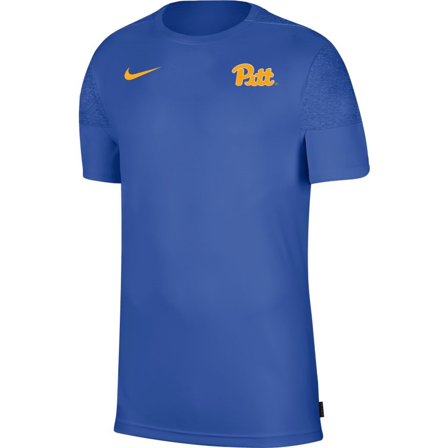Image For Nike T-Shirt Pitt Script Coach's UV - Royal