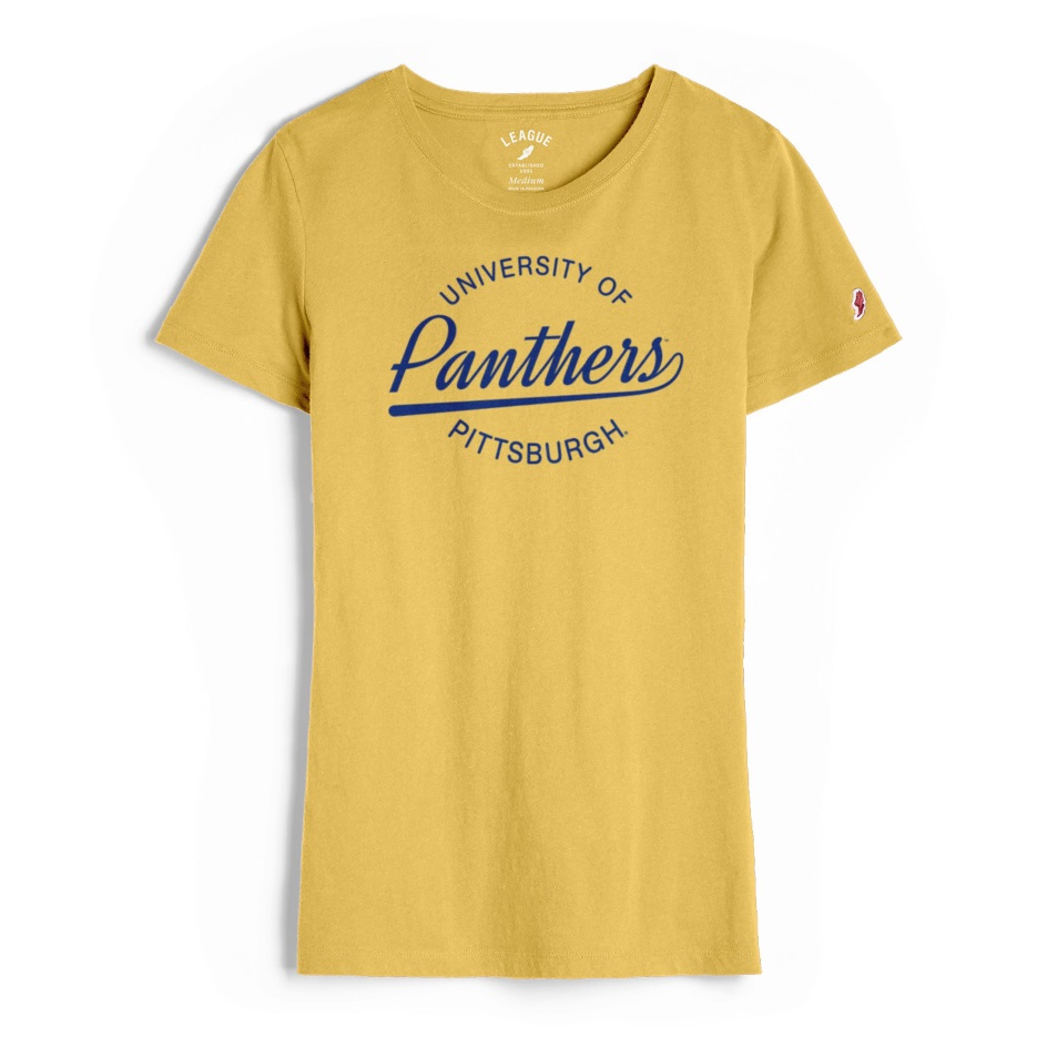 Image For League Women's Tshirt University of Pittsburgh Panthers