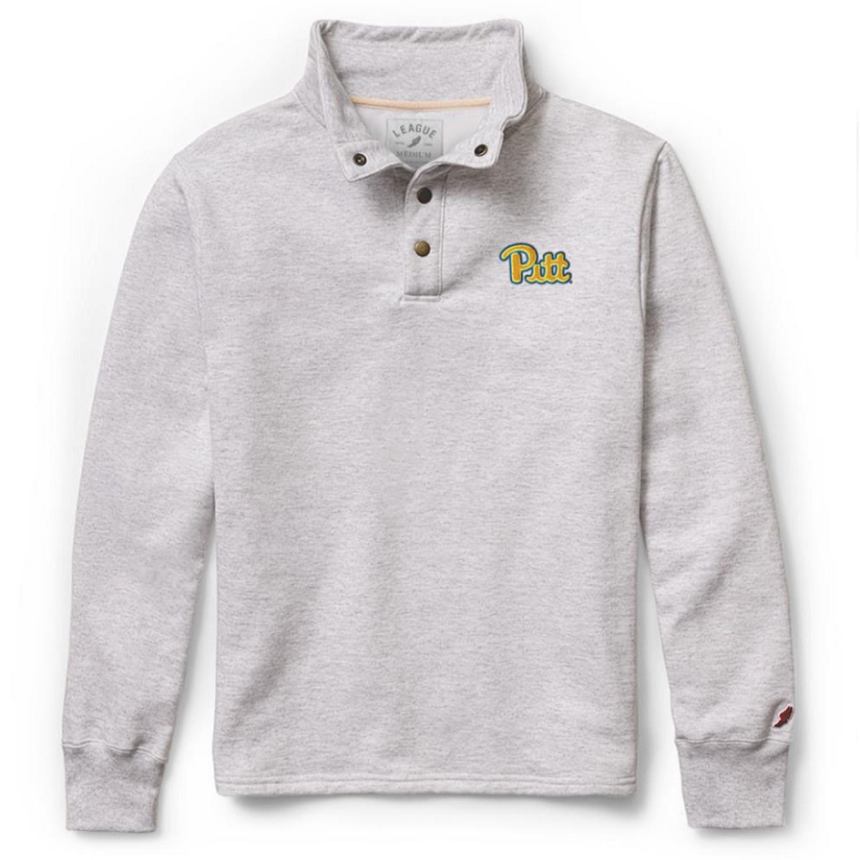 Image For League Men's Quarter Zip Snap Up