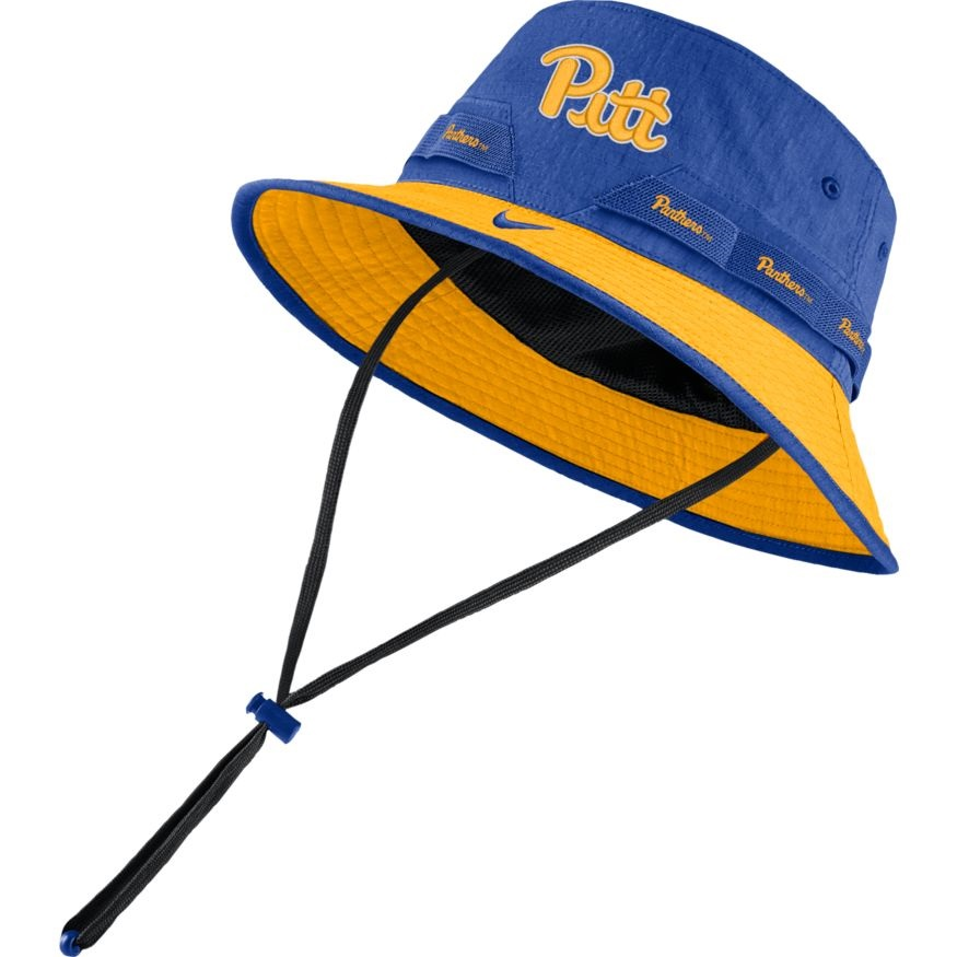 Cover Image For Nike Bucket Hat Adult Pitt/Panthers Script - Royal