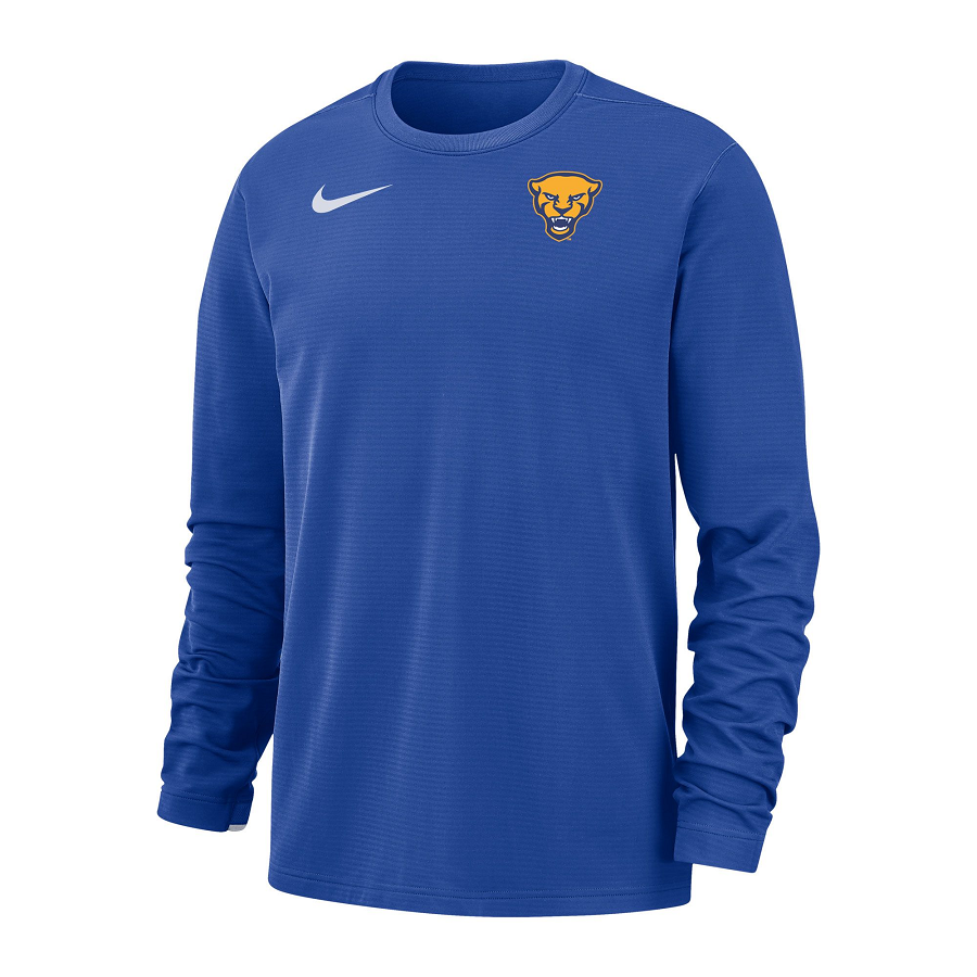 Image For Nike Long Sleeve Panther Head - Royal
