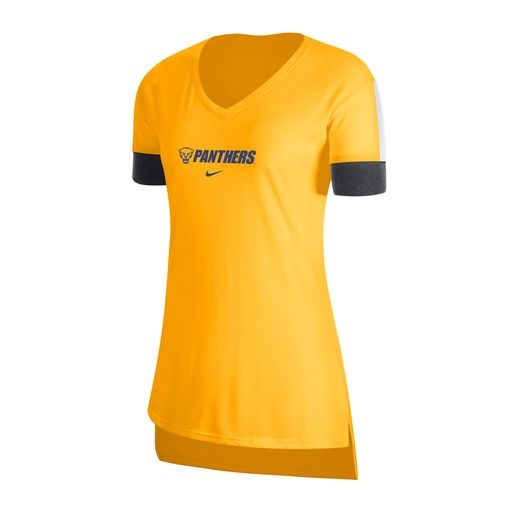 Cover Image For Nike Women's T-Shirt Dri-Blend Panthers