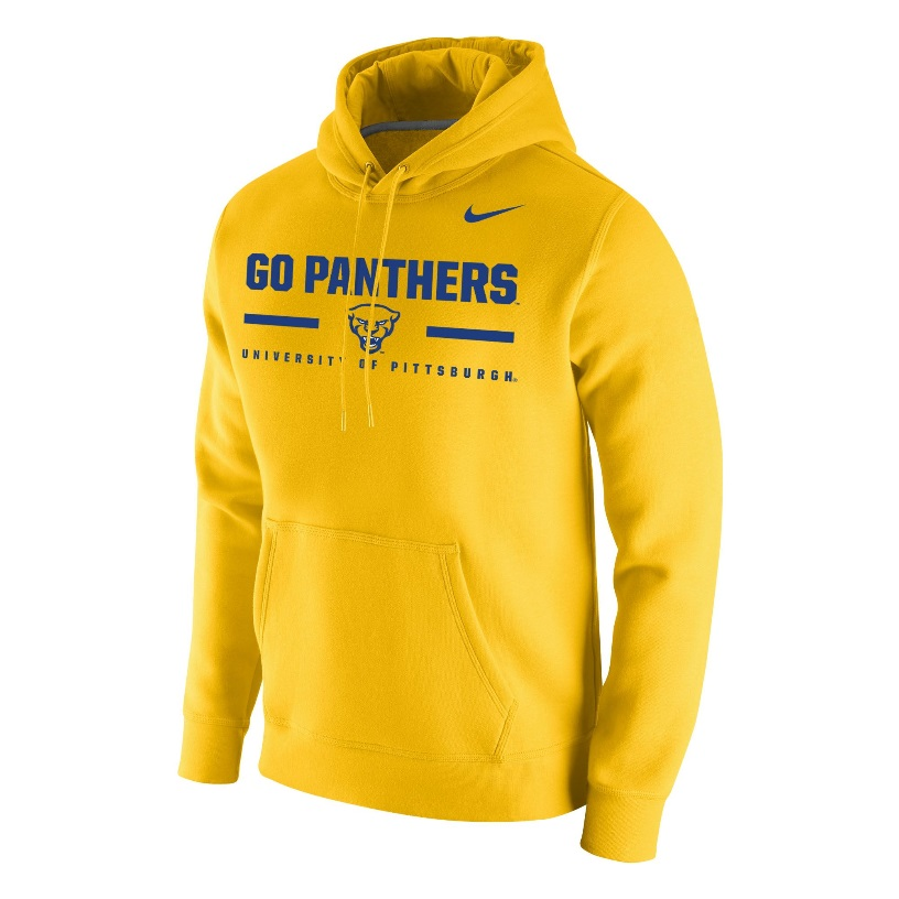 Image For Nike Hood Club Fleece Men's Go Panthers UOP - Gold