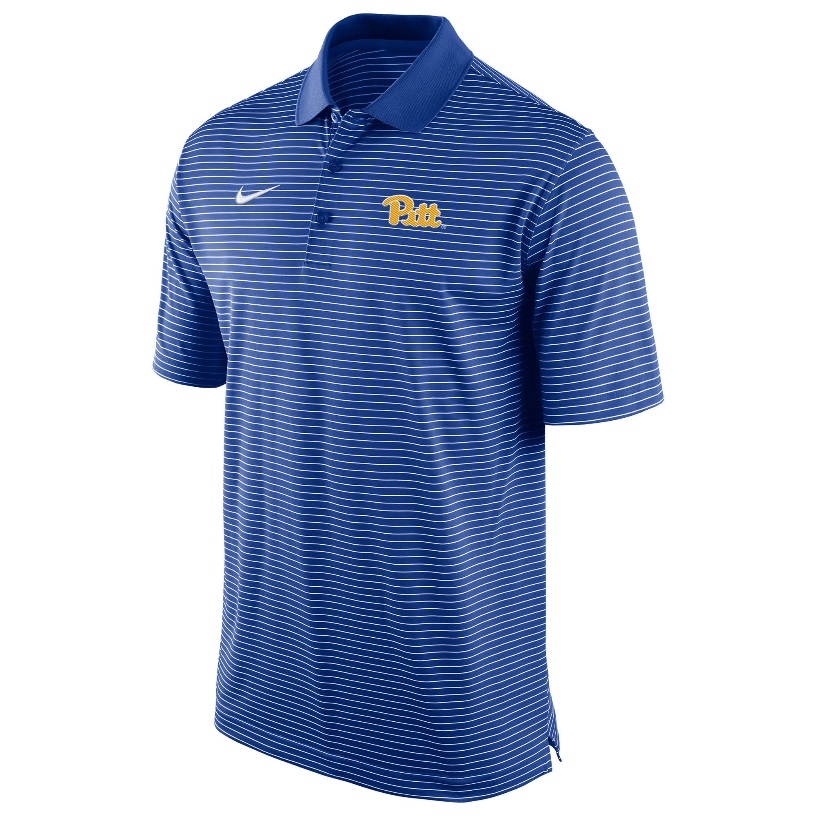 Image For Nike Polo Men's Stadium Stripe - Royal