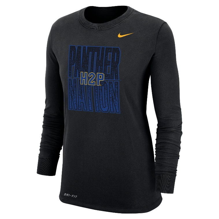 Image For Nike Women's Long Sleeve T-Shirt  Dri-FIT - Black