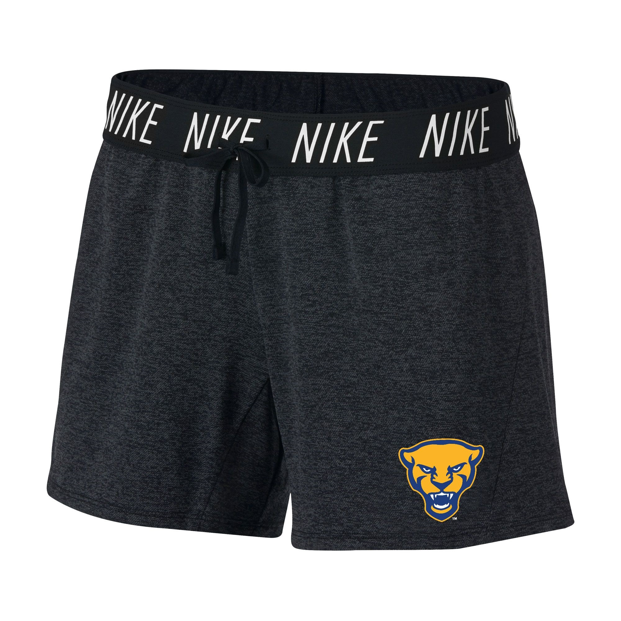 Image For Nike Women's Shorts Attack Panther Head - Black