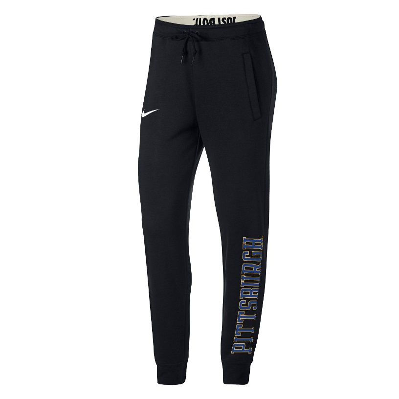 Image For Nike Women's Pant Fleece Jogger - Black