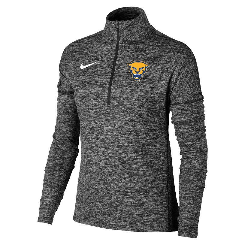 Image For Nike Women's 1/2 Zip Element Panther Head