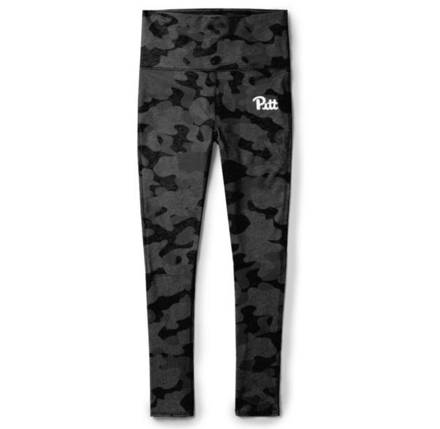 Image For League Leggings Relay - Black/Grey Camo