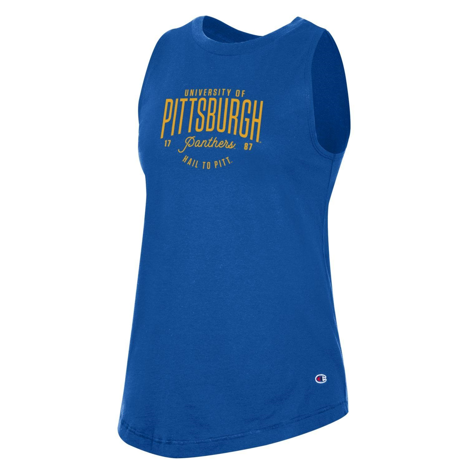 Cover Image For Champion Women's University Of Pittsburgh Tank