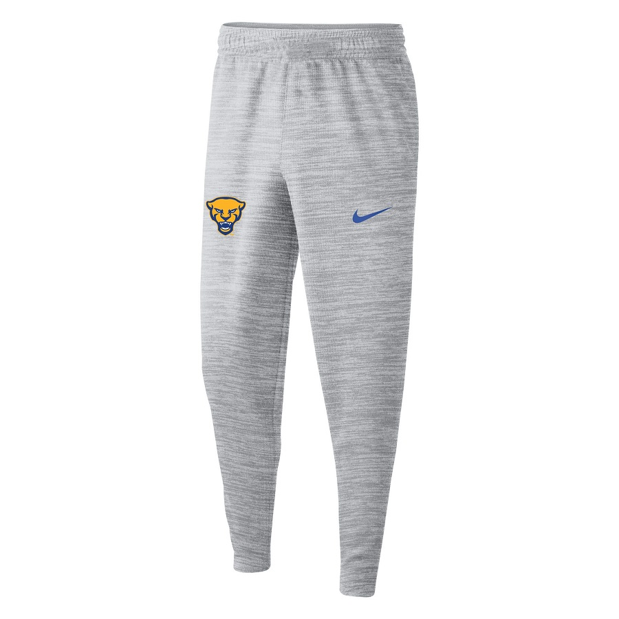 Cover Image For Nike Sweatpant Adult Jogger Spotlight Panther Head - Grey