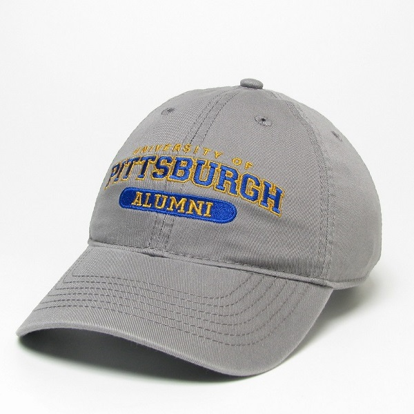 Cover Image For Legacy Adult's Hat University of Pittsburgh Alumni - Grey