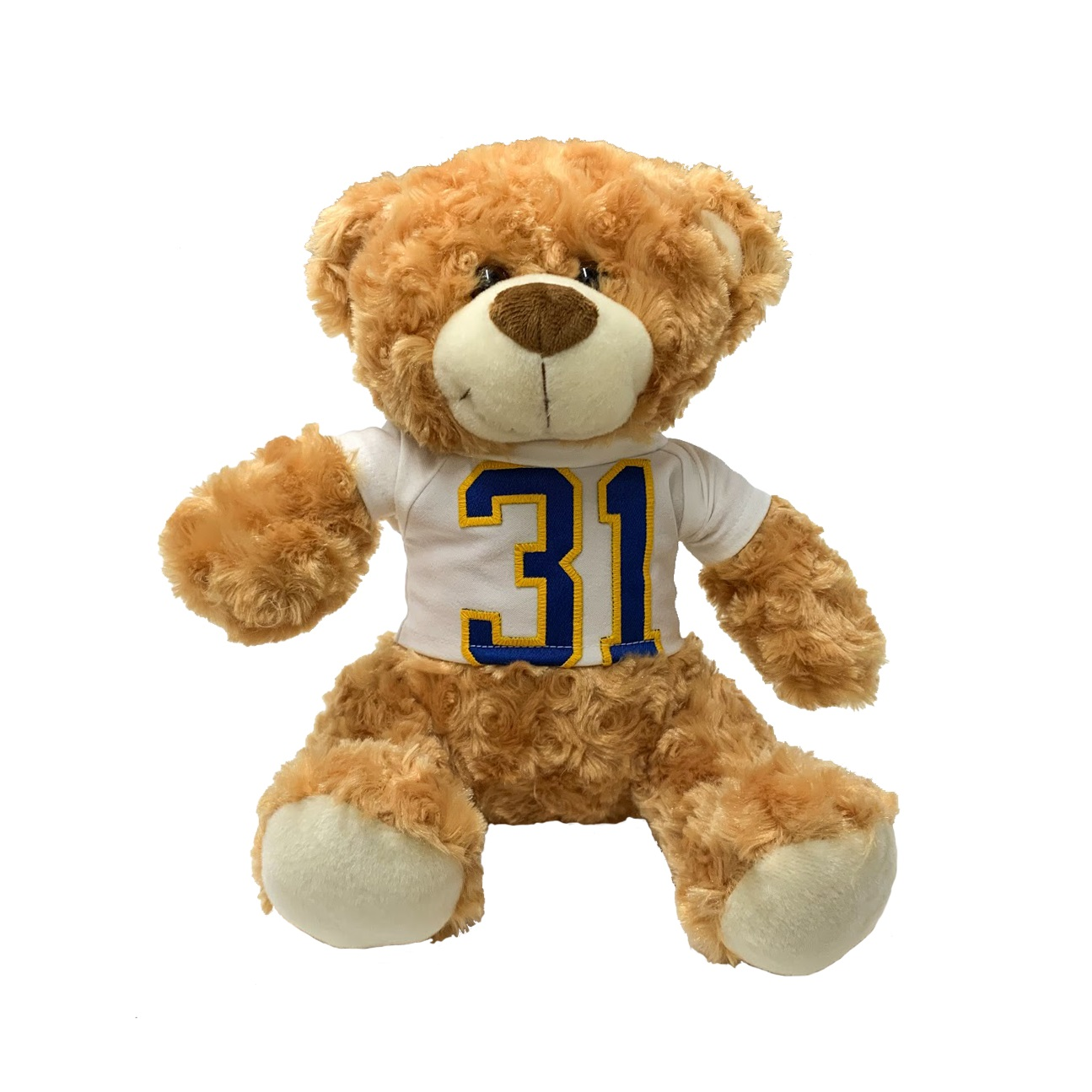 Image For 100% Upcycled Bear With Pitt Jersey