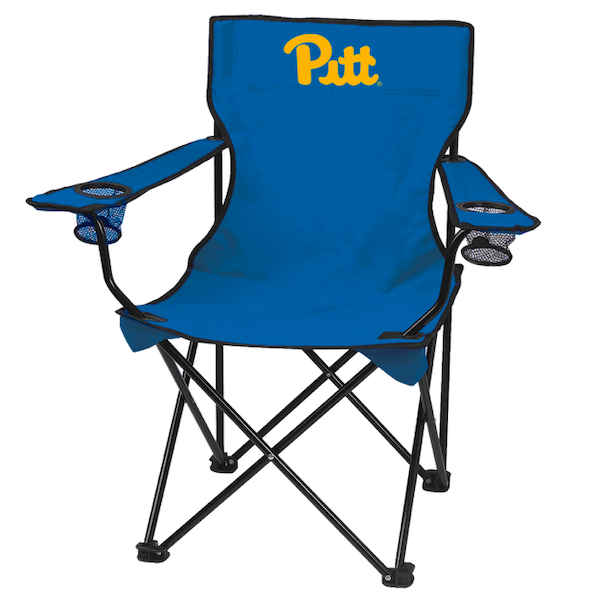 Cover Image For Game Day Pitt Camp Chair